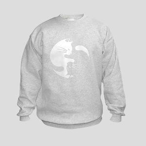 Cat yin yang T-shirt Kids Sweatshirt
