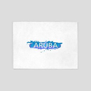 Aruba Design 5'x7'Area Rug