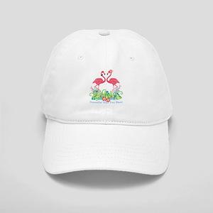 PERSONALIZED Flamingo Couple Baseball Cap