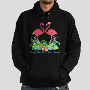 PERSONALIZED Flamingo Couple Hoodie
