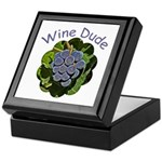 Wine Dude Grapes - Keepsake Gift Box