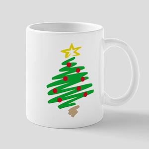 CHRISTMAS TREE (HAND-DRAWN) Mug