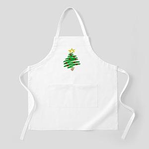 CHRISTMAS TREE (HAND-DRAWN) BBQ Apron
