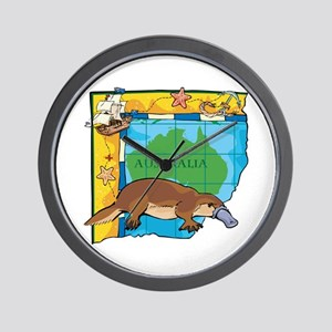 Australia Platypus Wall Clock