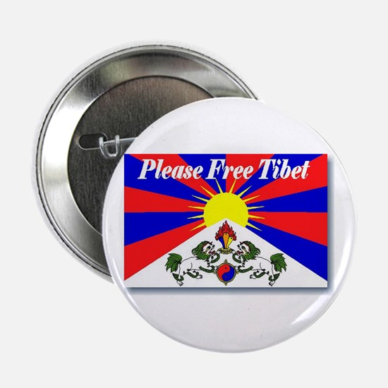 Please Free Tibet Button