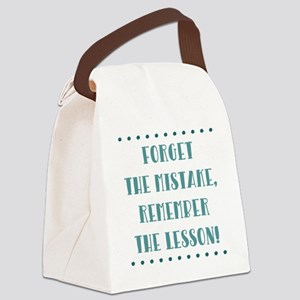 FORGET THE... Canvas Lunch Bag