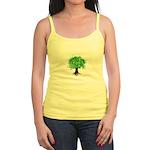 Earth Day / I hug tree Jr. Spaghetti Tank