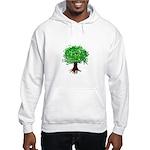 Earth Day / I hug tree Hooded Sweatshirt