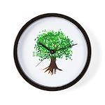Earth Day / I hug tree Wall Clock