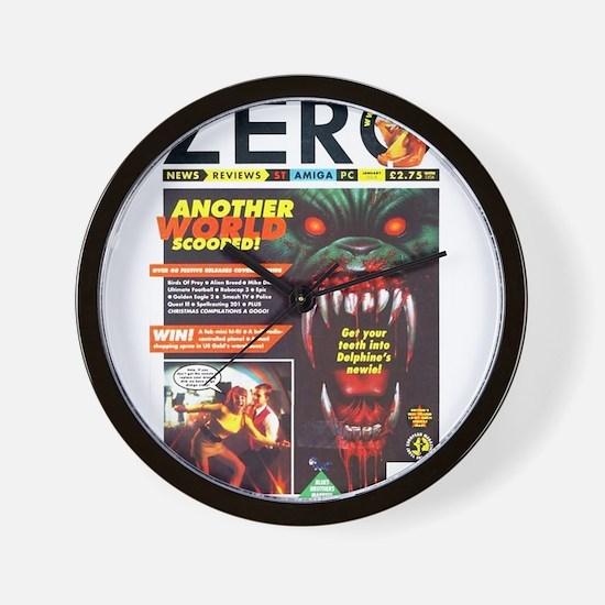Zero Magazine (1992-01) Wall Clock