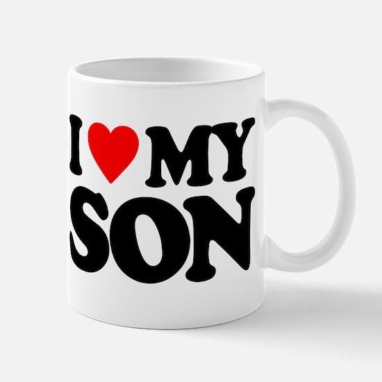 I LOVE MY SON Mug
