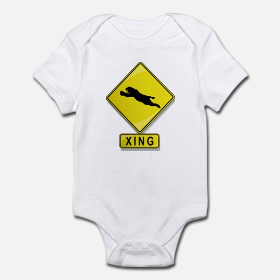 Saber Tooth Cat XING Infant Bodysuit