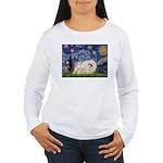 Starry / Pekingese(w) Women's Long Sleeve T-Shirt