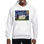Starry / Pekingese(w) Hooded Sweatshirt