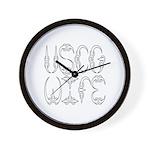 USCG Wife Wall Clock