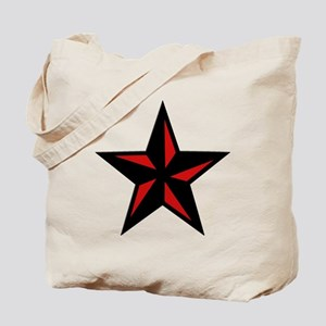 Redblack Star Tote Bag