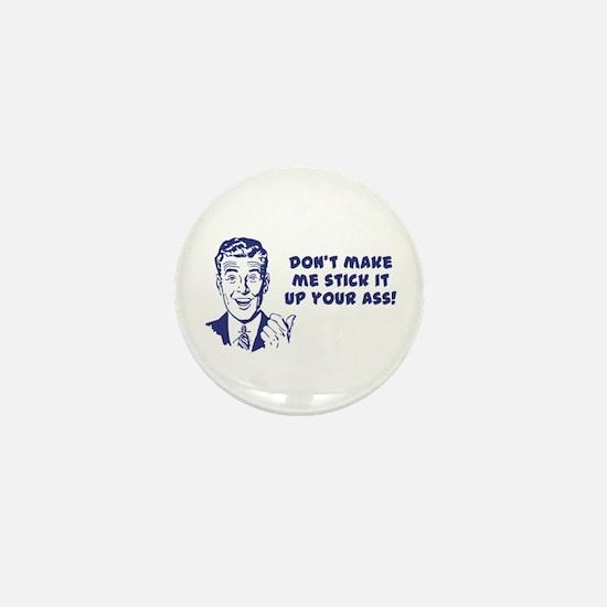 Unique Obscene Mini Button