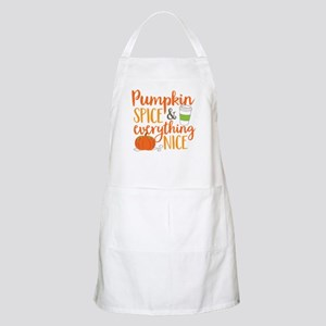 Pumpkin Spice and Everything Nice Apron