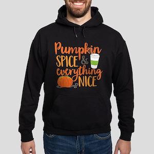 Pumpkin Spice and Everything Nice Hoodie (dark)