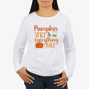 Pumpkin Spice and Ever Women's Long Sleeve T-Shirt