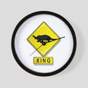 Platypus XING Wall Clock
