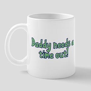 Time Out Dad Mug
