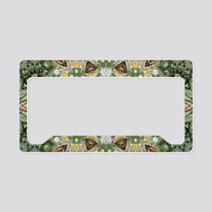 botanical bohemian boho flora License Plate Holder