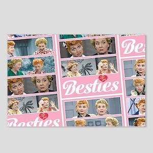 I Love Lucy: Besties Patt Postcards (Package of 8)