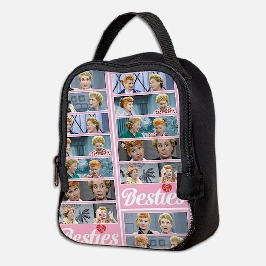 I Love Lucy: Besties Pattern Neoprene Lunch Bag
