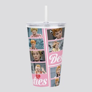 I Love Lucy: Besties P Acrylic Double-wall Tumbler