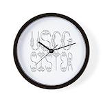 USCG Sister Wall Clock