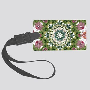 bohemian Chic boho floral Large Luggage Tag