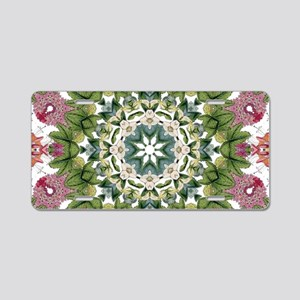 bohemian Chic boho floral Aluminum License Plate