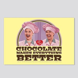 I Love Lucy: Chocolate Ma Postcards (Package of 8)