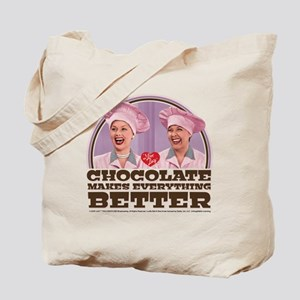I Love Lucy: Chocolate Makes Everything B Tote Bag