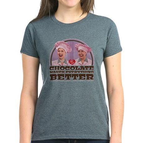 I Love Lucy Chocolate T-Shirt