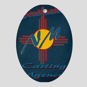 SE NM Casting Agency Logo Wear Oval Ornament