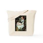 Ophelia /Pekingese(w) Tote Bag