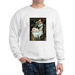 Ophelia /Pekingese(w) Sweatshirt