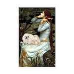 Ophelia /Pekingese(w) Sticker (Rectangle)