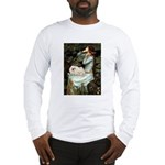 Ophelia /Pekingese(w) Long Sleeve T-Shirt