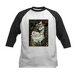 Ophelia /Pekingese(w) Kids Baseball Jersey
