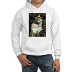 Ophelia /Pekingese(w) Hooded Sweatshirt