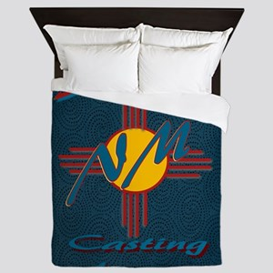 SE NM Casting Agency Logo Wear Queen Duvet