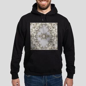 boho chic mandala bohemian lace Hoodie (dark)