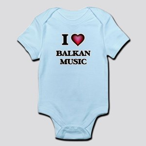 I Love BALKAN MUSIC Body Suit