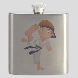 KARATE BOY Flask