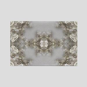 boho chic mandala bohemian lace Magnets
