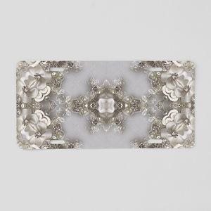 boho chic mandala bohemian Aluminum License Plate