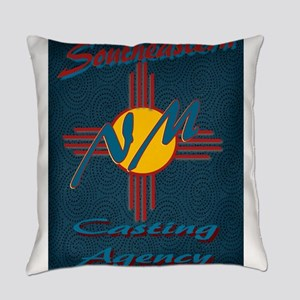 SE NM Casting Agency Logo Wear Everyday Pillow
